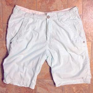 Men's Buckle Black Shorts